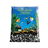 Pure Water Pebbles Aquarium Gravel, 25-Pound, Salt and Pepper