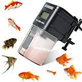Fish Feeder,Automatic Fish Feeder Battery Operated Aquarium Tank Auto Pet Fish Food Feeder Timer Dispenser For Small Fish,Tropical Fish,Gold Fish