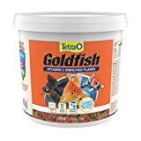 Tetra Goldfish Flakes 2.2 Pound Bucket, Nutritionally Balanced Diet For Aquarium Fish